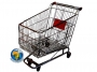 210lt shopping trolley